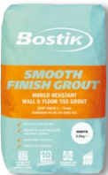 BOSTIK SMOOTH FINISH GROUT WHITE 10KG 68780